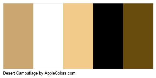 Symbol Defect Camouflage Lurch Disguise Flag Waste Godforsaken Desert #cca671 #ffffff #f2cb8a #000000 #674c0e