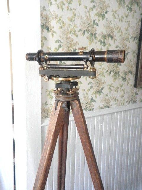 Antique Level Transit Antiques Antique Tools Surveying Equipment