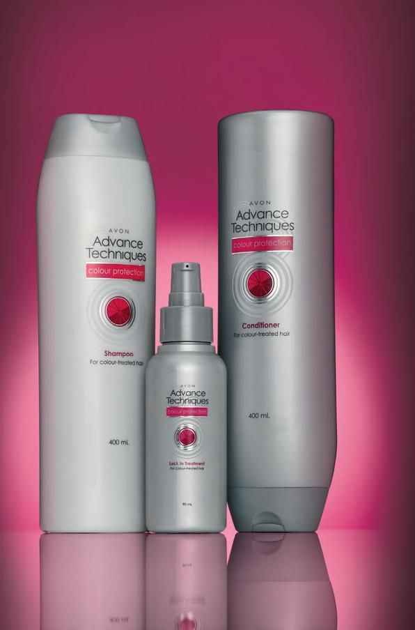 Avon has great hair products that doesn\'t drain your wallet ...