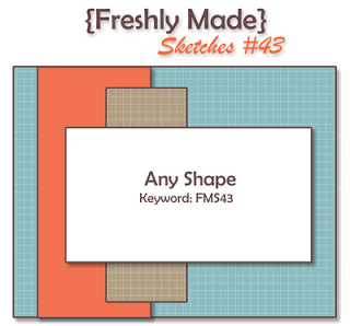 Rocky Mountain Paper Crafts: Freshly Made Sketches #43