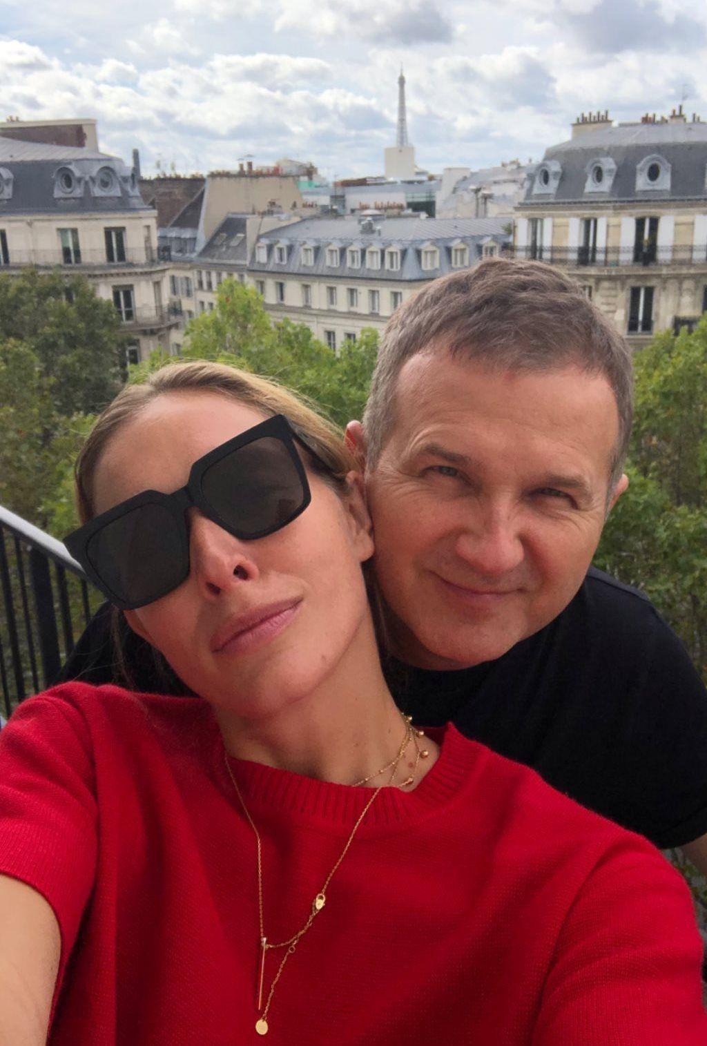 Юрий Горбунов и Катя Осадчая в Париже