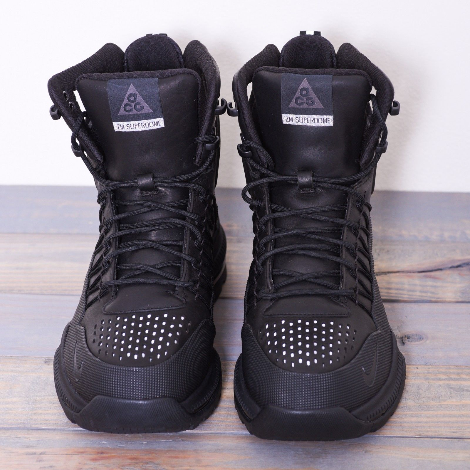 0255f347138 Nike ZM Superdome ACG Boots Black mens shoes size 9.5 US New in mint ...
