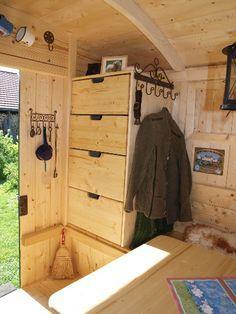 sch ferwagen innen bauwagen pinterest. Black Bedroom Furniture Sets. Home Design Ideas