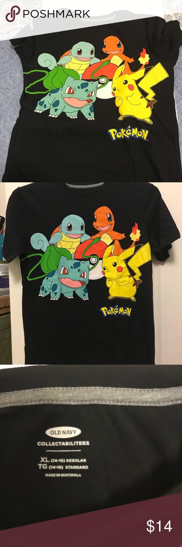 badbb52b NWOT Old Navy boys Pokémon gráphic tee . New Old Navy Pokémon T-shirt XL  (14-16). Shirts & Tops Tees - Short Sleeve