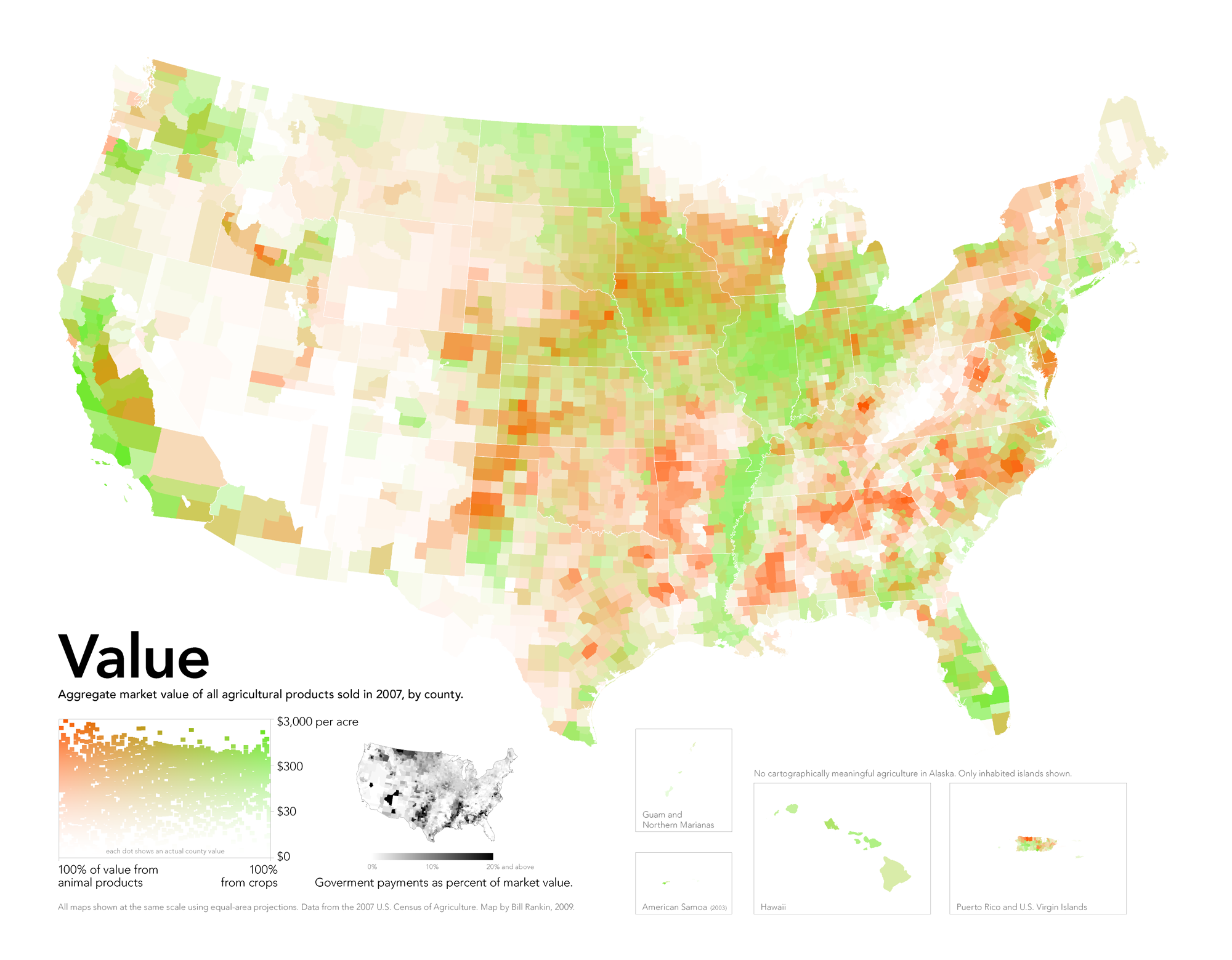 Maps That Explain Food In America Livestock And Food - Agricultural products grown in the us map