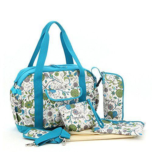 Luisvanita 5 Pieces Diaper Bag Set Blue and Flora Printing LuisVanita http://www.amazon.com/dp/B017633F4Q/ref=cm_sw_r_pi_dp_qmGswb0HH4PTW