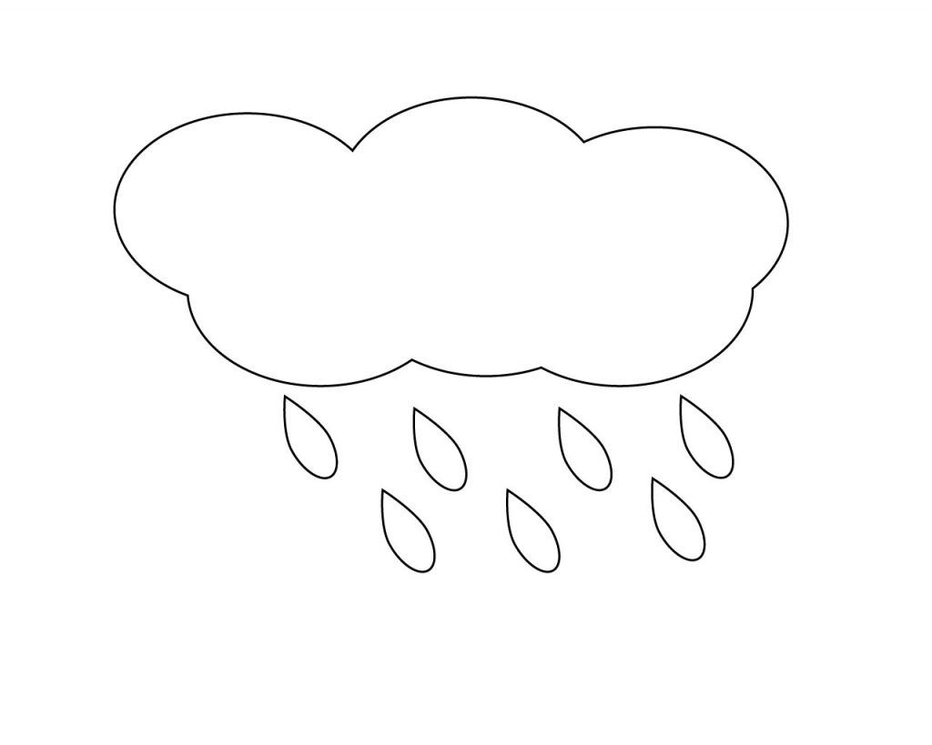 Raindrop Coloring Page Printable Coloring Pages Free Printable