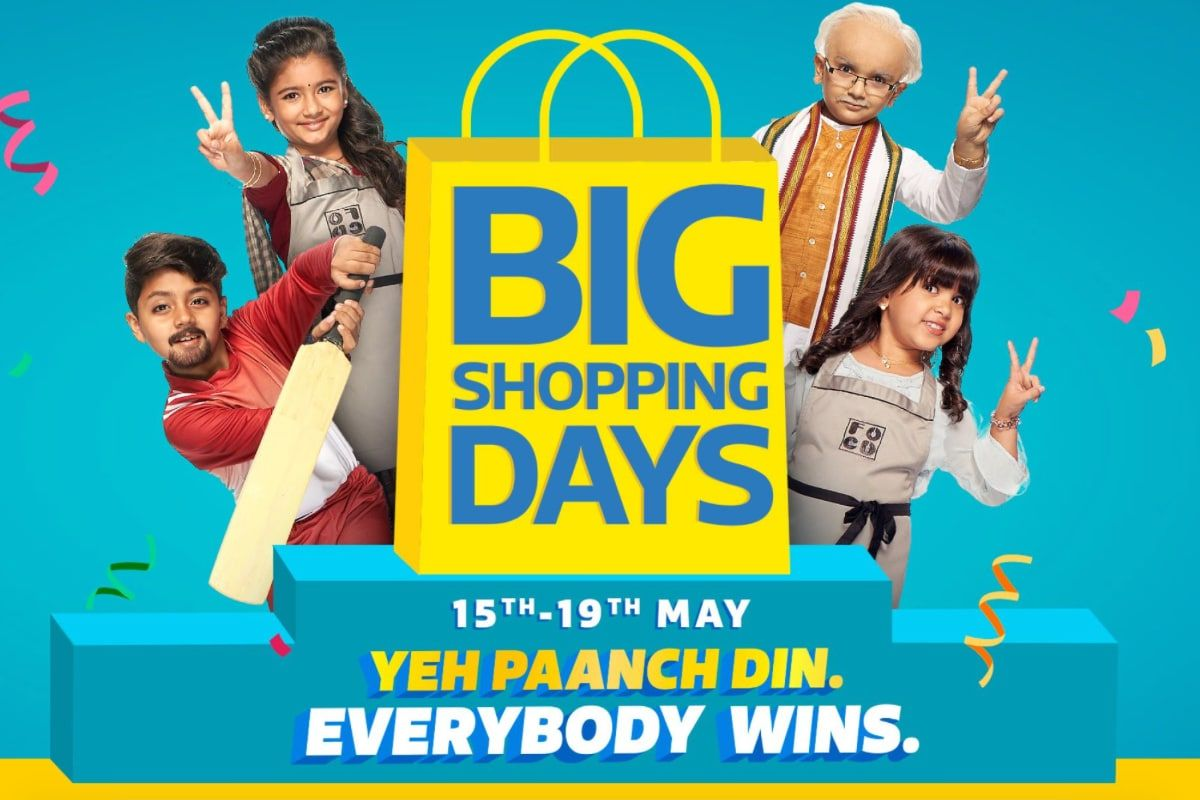 Flipkart Big Shopping Days Sale Promises 'Lowest Prices