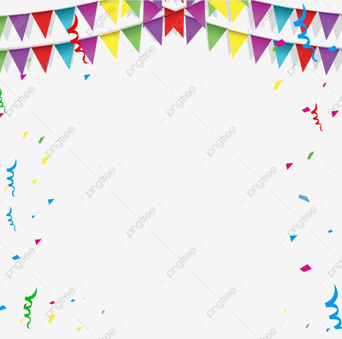 Happy Birthday Border Png Transparent Background Transparent Clipart Confetti Vector Png And Vector With Transparent Background For Free Download Happy Birthday Font Transparent Background Happy Birthday Floral