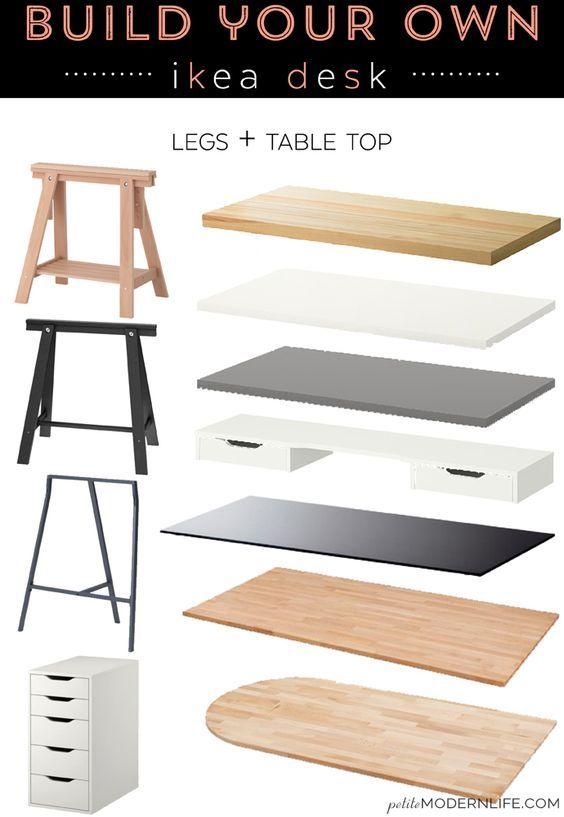 build your own ikea desk - Design Your Own Office Desk
