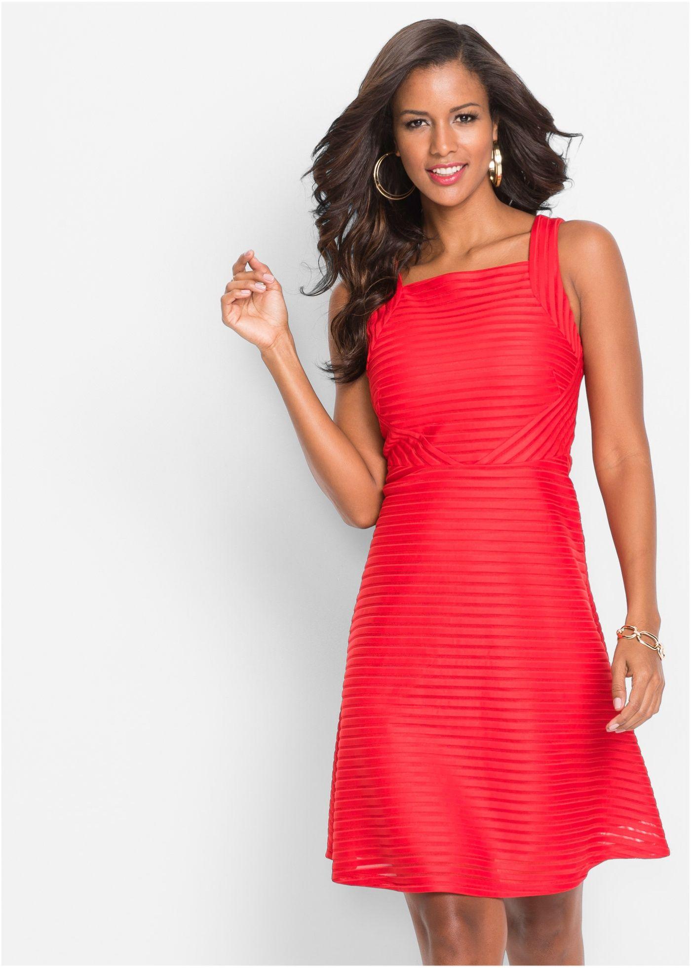 Bonprix kleid rot spitze – Stilvolle Kleiderneuheiten