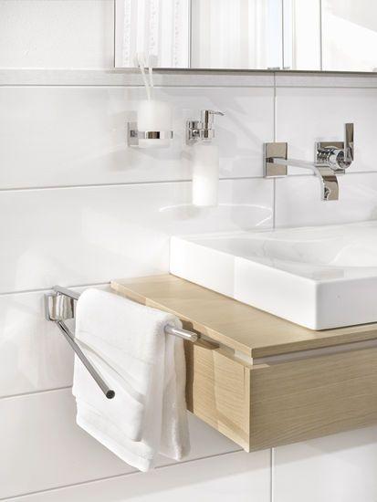 nie wieder bohren-Badaccessoires ohne Bohren Baño Pinterest - badezimmer regal ohne bohren
