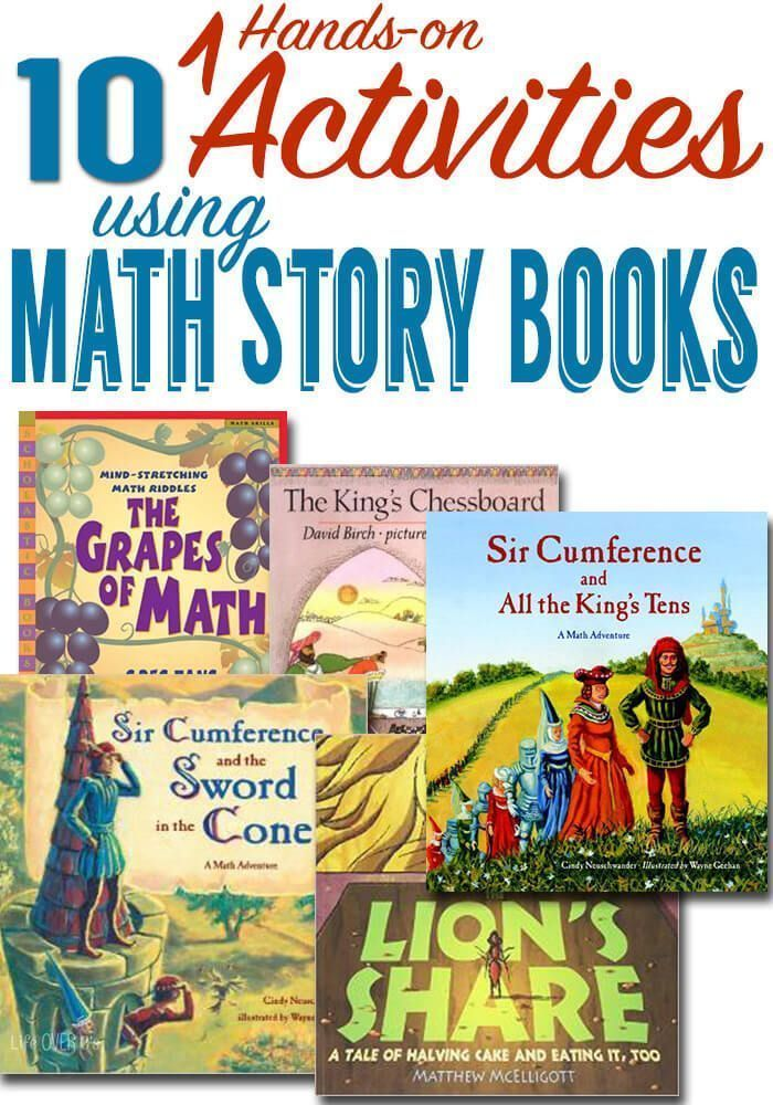 Hands-on Activities with Math Story Books | Pinterest | Story books ...