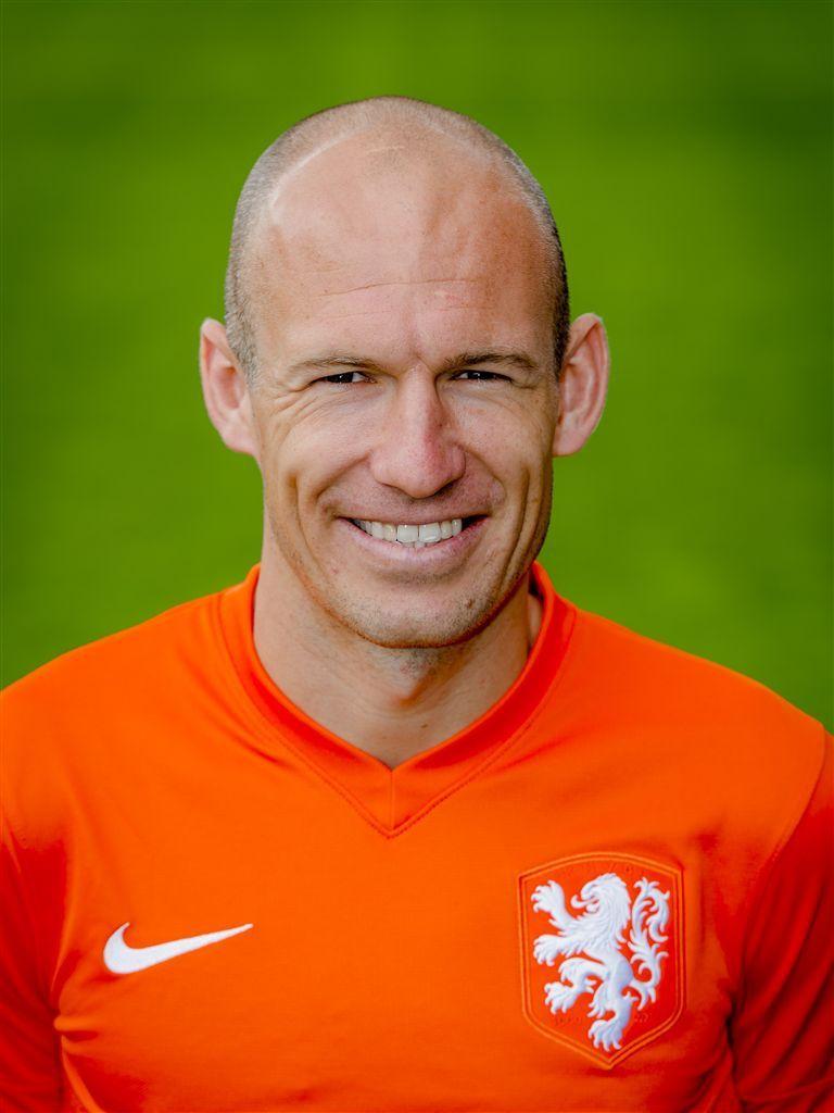 Arjan Robben Voetballers Bijzondere Mensen Voetbal