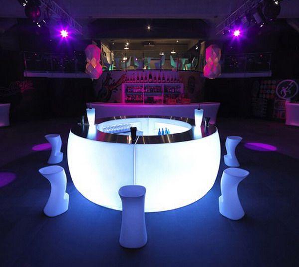 Glow In The Dark Outdoor Bar Outdoor Bar Modern Bar Bar Design