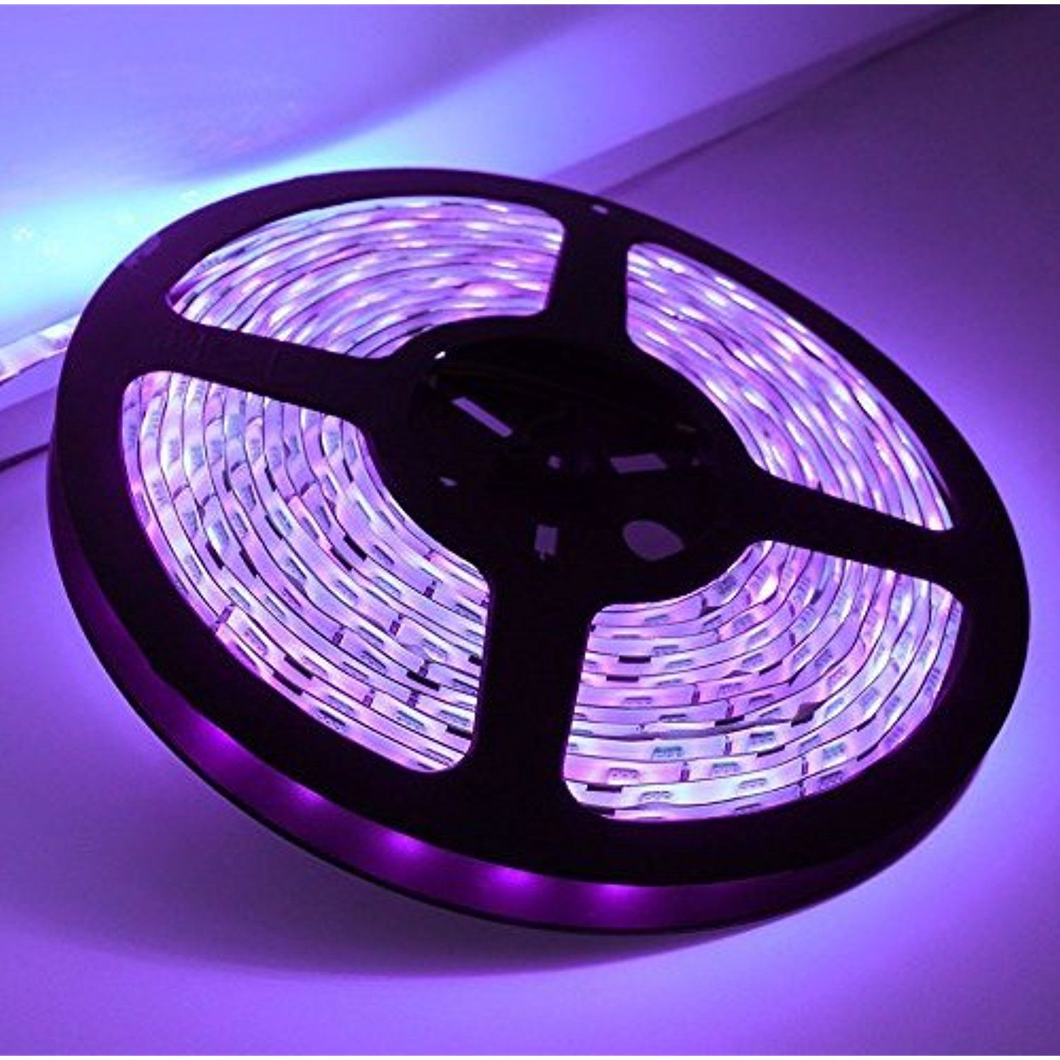 12V Waterproof Led Light Strips Gorgeous Waterresistance Ip65 Uvultraviolet Black Lights 12V 24Watt 3528 Design Inspiration