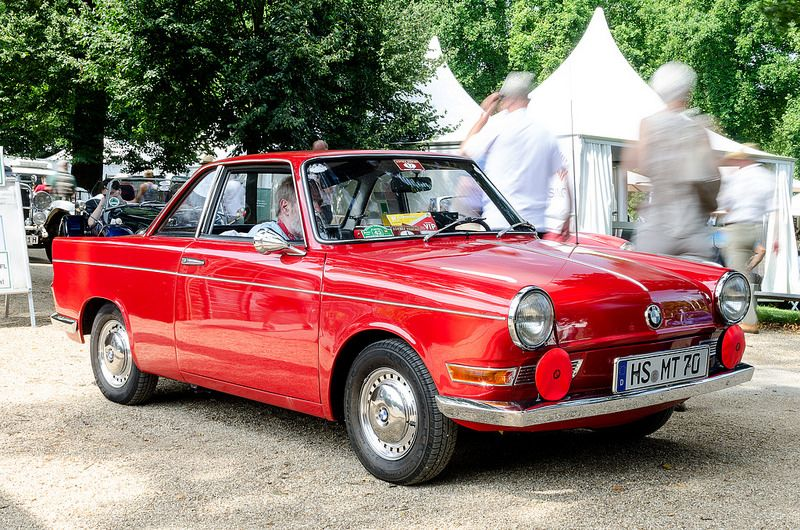 BMW 700 Coupe 1959 -1965 Designed by Michelotti