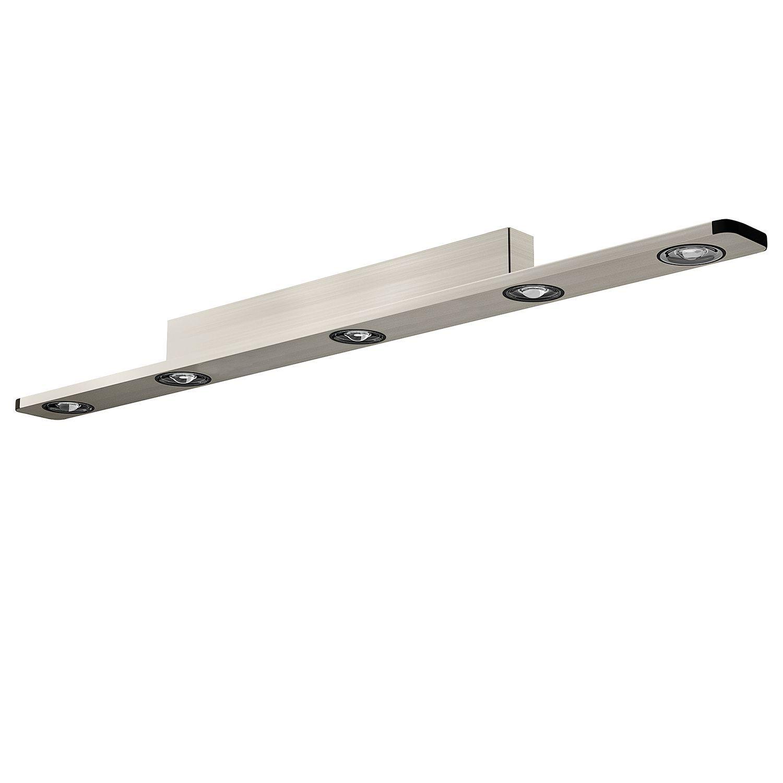 EEK A+, LED-Deckenleuchte Light Wave I - Aluminium - 5, EVOTEC Jetzt bestellen unter: https://moebel.ladendirekt.de/lampen/deckenleuchten/deckenlampen/?uid=f345b26f-dd37-5953-a7f6-32079f6c0d77&utm_source=pinterest&utm_medium=pin&utm_campaign=boards #deckenleuchten #lampen #innenleuchten #evotec #deckenlampen