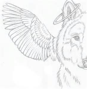 Angel Winged Wolf Coloring Pages Coloring Pages Angel Wings Drawing Easy Drawings Sketches Horse Coloring Pages