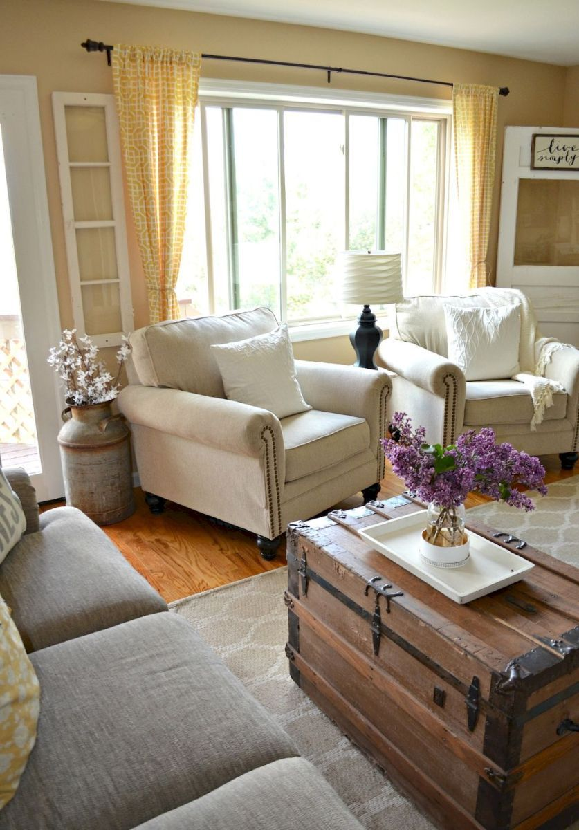 Merveilleux Lasting Farmhouse Living Room Furniture And Decor Ideas (2)