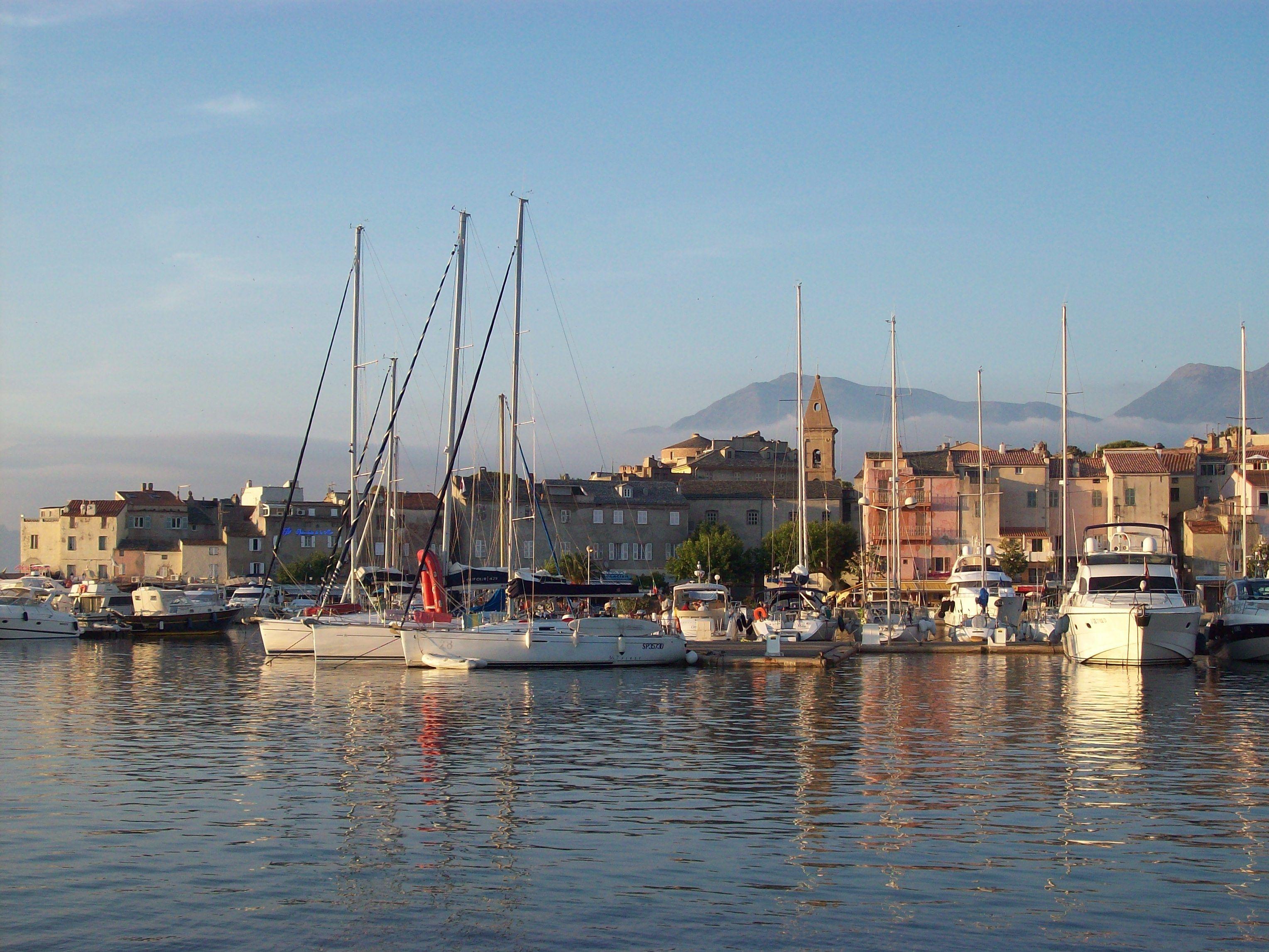 SAINT-FLORENT'S COSY HARBOUR // Corsica // © Frederik Everaert