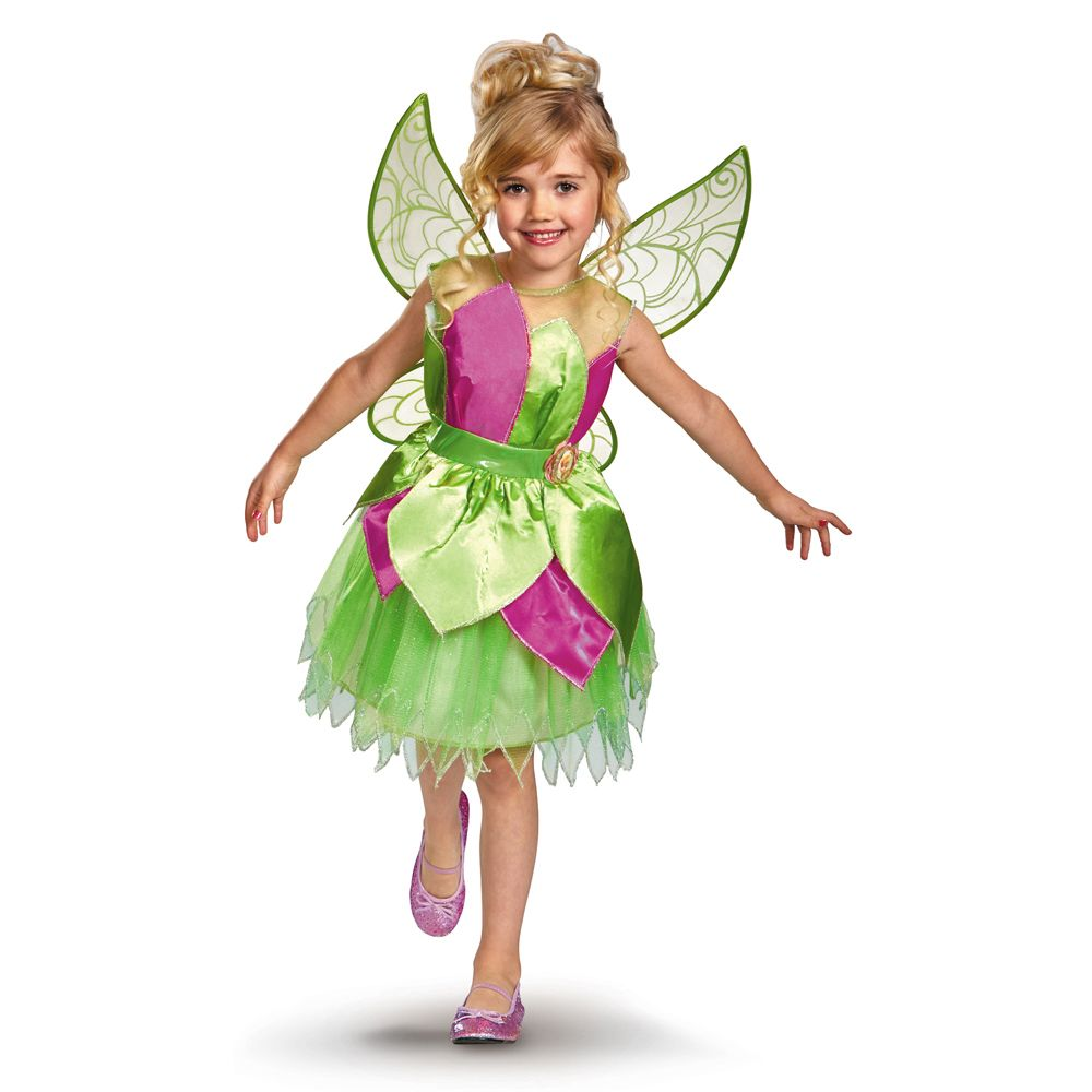 fairy costumes for toddler girls deluxe tinker bell