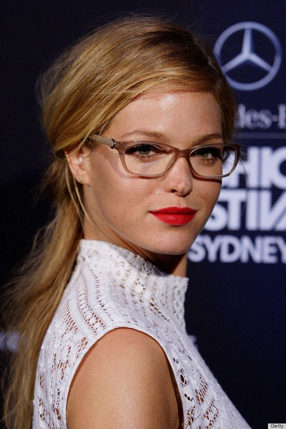 7ccc818081 Erin Heathertons Glasses Are The Geekiest Red Carpet Accessory Weve Seen  (PHOTOS)