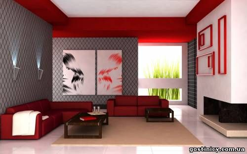 Pin by Muaaz Rana on Diy Pinterest Living rooms, Red couch - deco salon rouge blanc noir