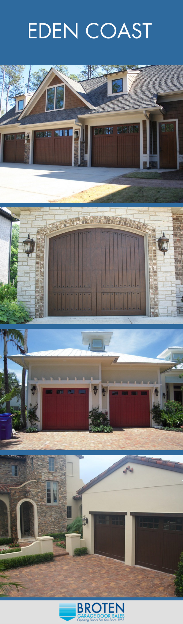Eden Coast Garage Doors Garage Doors And Garage Door Sales