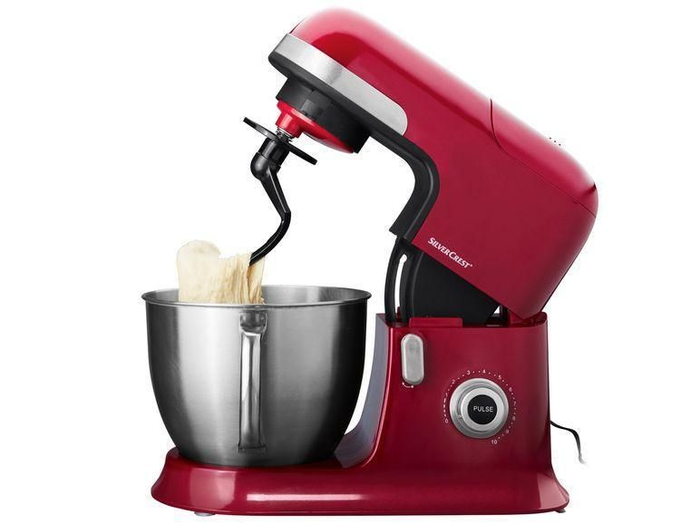 Profi Küchenmaschine SKMP 1300 C1 SILVERCREST® rot - silver crest küchenmaschine