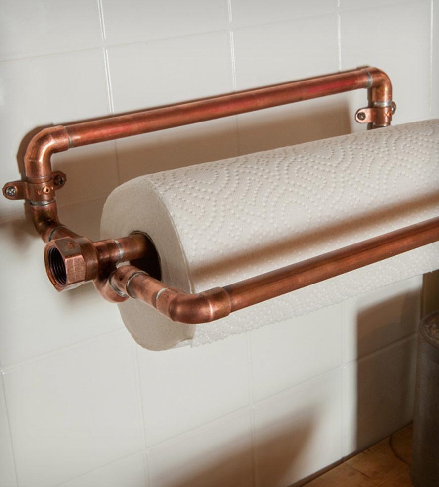 Copper Paper Towel Holder Home Kitchen Pantry Nine Twenty Scoutmob Pe Product Detail