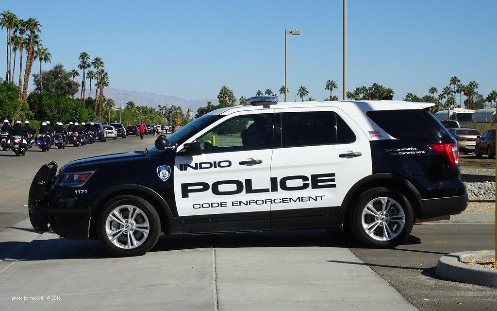 Ca Indio Police Dept Police Cars Emergency Vehicles Police Dept