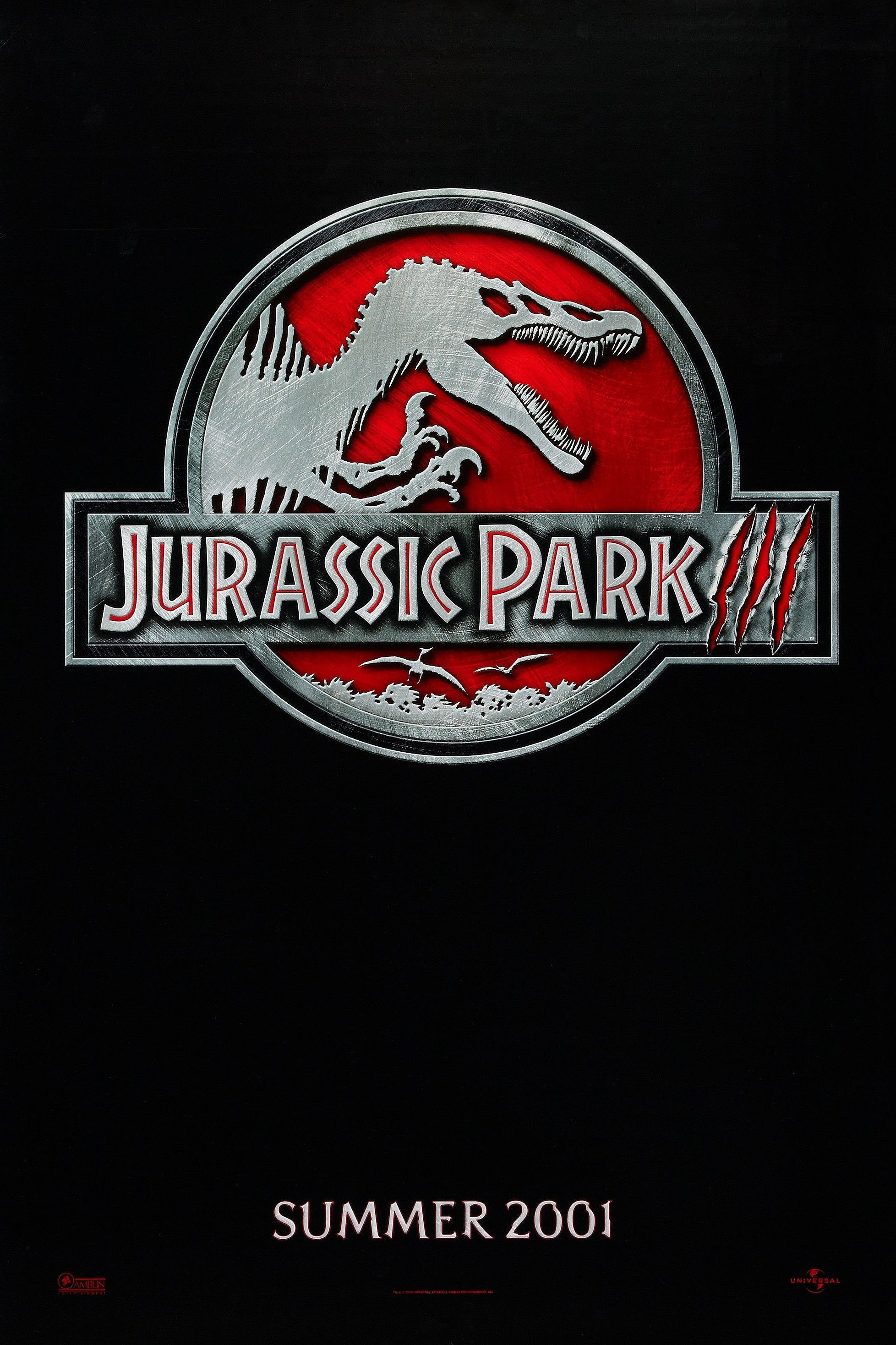 Jurassic Park Iii 2001 Jurassic Park