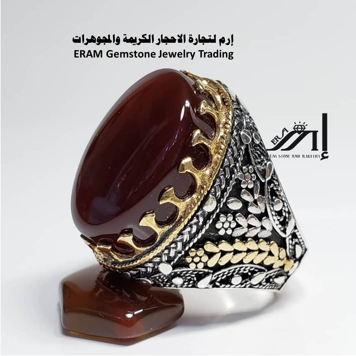 لتلفت الانتباه اليك صغنا لك خاتم من العقيق الاحمر الكبدي دم الغزال الفاخرة مميز طبيعي100 Agate Cuff Bracelets Jewelry Cuff