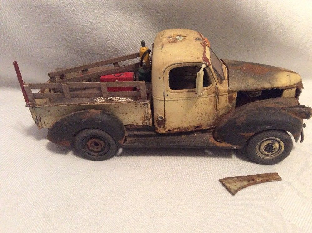 1941 chevy pickup built model truck with custom wood stake bed chevrolet 1577 chevy pickups model cars building wood stake pinterest