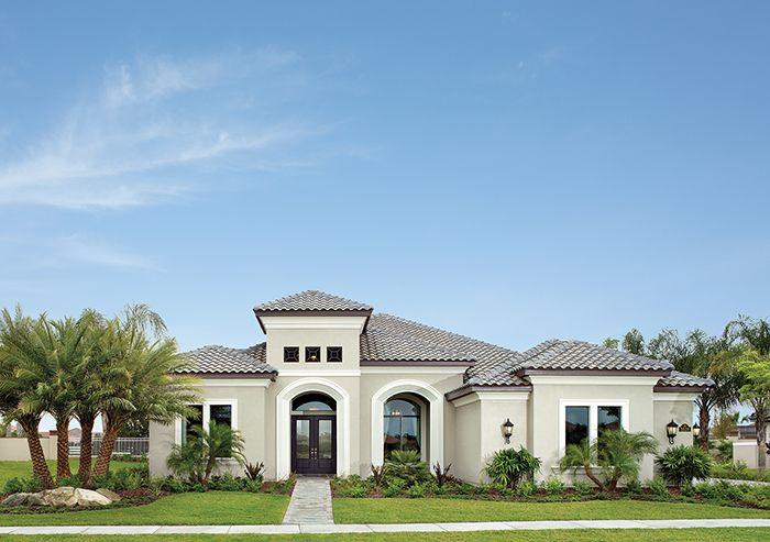 Viera luxury designer home exterior colors for the home - Exterior house colors for florida homes ...