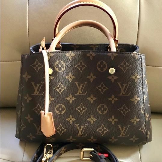 Louis Vuitton Montaigne BB  tanleatherbag  99855884e13db