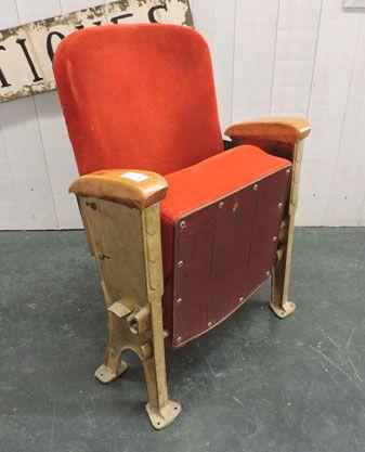 fauteuil de cin ma ancien d co ancienne pinterest fauteuils cin ma et ancien. Black Bedroom Furniture Sets. Home Design Ideas