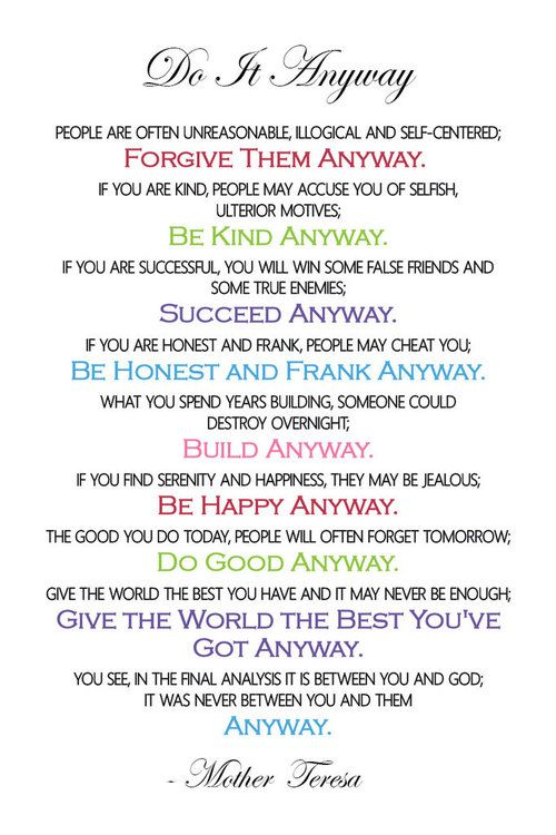 photo about Mother Teresa Do It Anyway Printable called mom teresa do it in any case Mom Teresa - Do it In any case