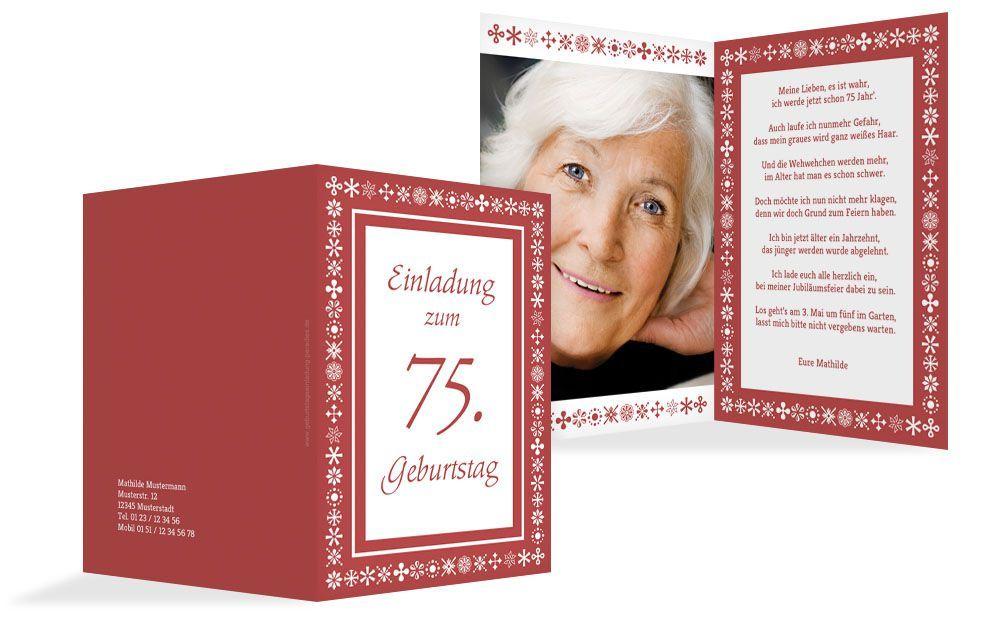 Einladung 75 Geburtstag Spruch Vorlage Kostenlos Einladung Kindergeburtstag Kostenlos Spruche Zum Geburtstag 75 Geburtstag