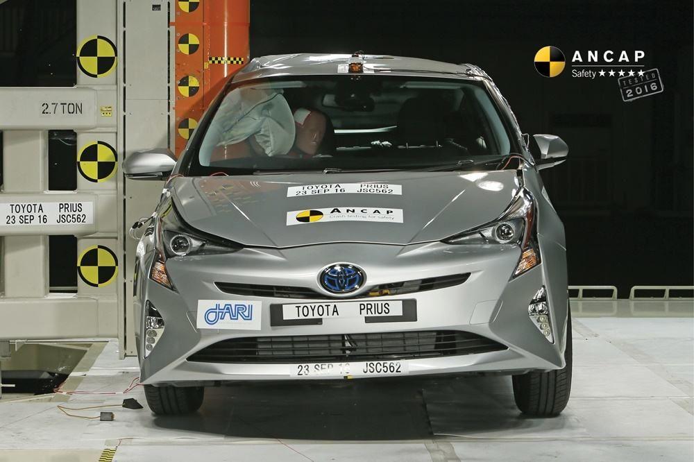 ANCAP has crash tested the newgeneration Toyota Prius and