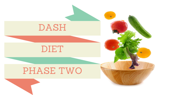 The Dash Diet Phase 2 Follows The 14 Days Of Dash Diet Phase 1 The