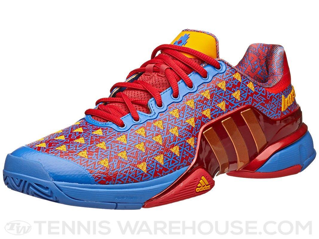 adidas Barricade 2015 Saksaywaman Red/Blue Men's Shoe   Tennis Warehouse