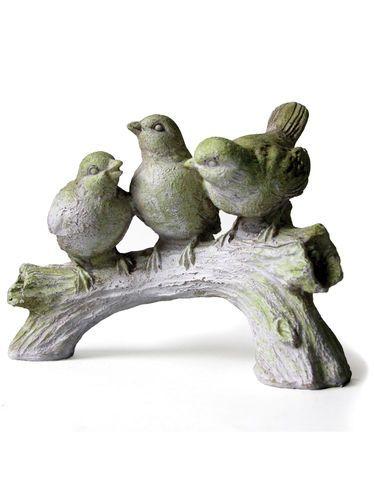 Three Singing Birds Garden Sculpture