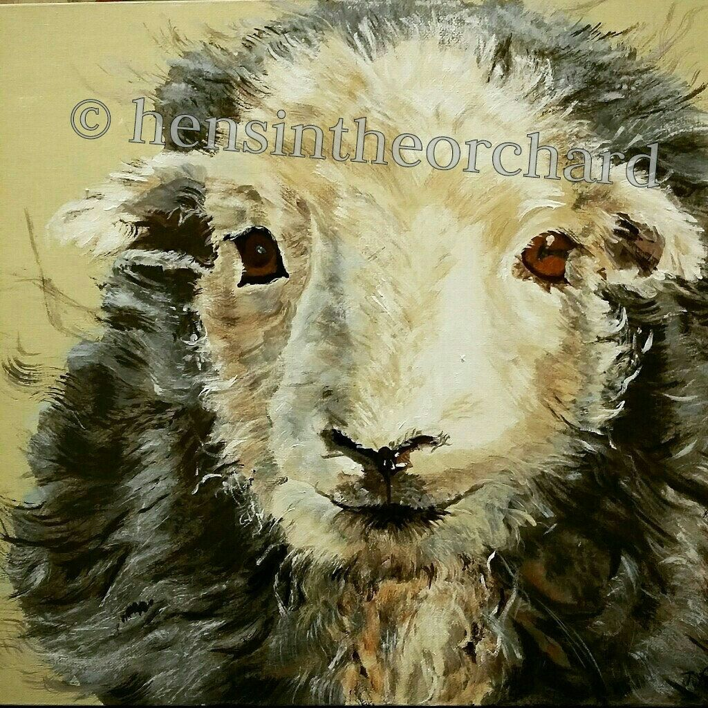 After doing a bit of market research 'I Love Ewe' has proved very popular. So I am selling it as limited edition prints (125) and number one has just sold. They are being printed to order, so please allow one to two weeks for delivery. Thank you