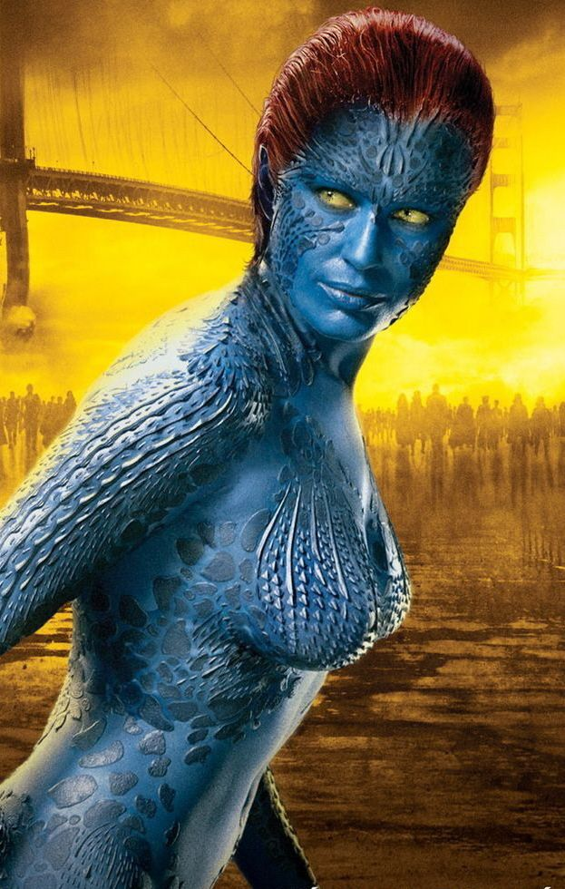 Jennifer Lawrence Fan Art Jennifer As Raven Darkholme Mystique Jennifer Lawrence Mystique Jennifer Lawrence X Men
