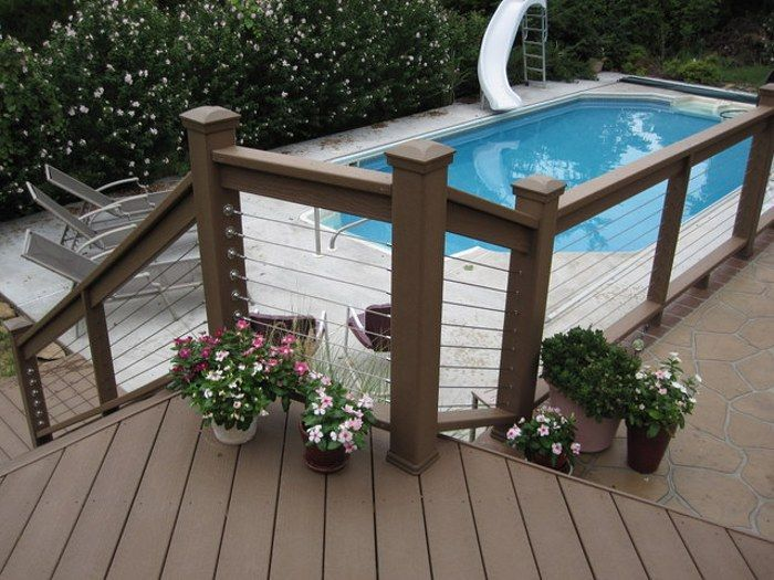 Garden Patio Cable Railing Stone Patio Designs Stainless Steel Cable Railing