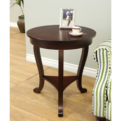 Charlton Home Lindel End Table Espresso End Table End Tables Table