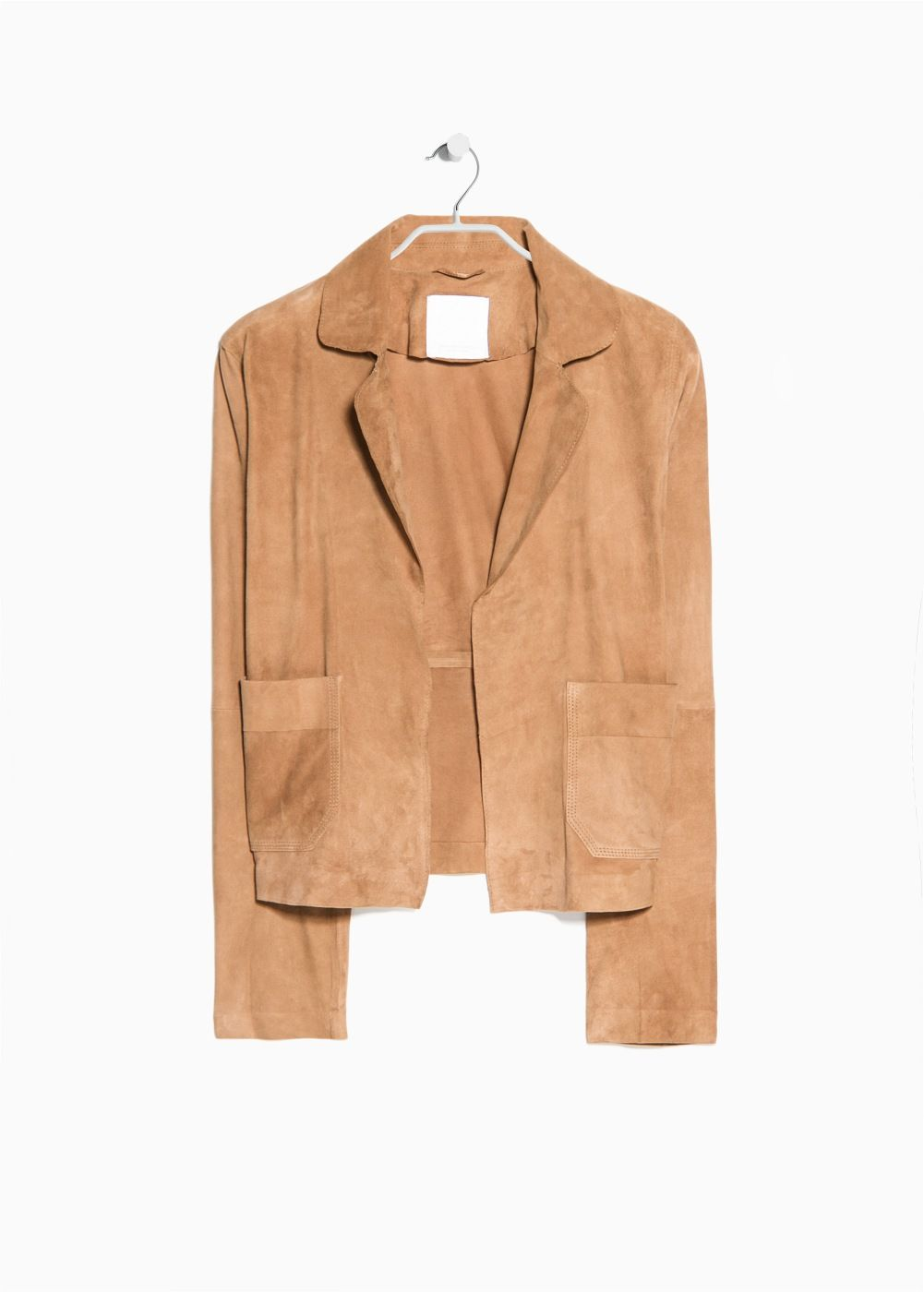 PREMIUM - Pocket leather jacket