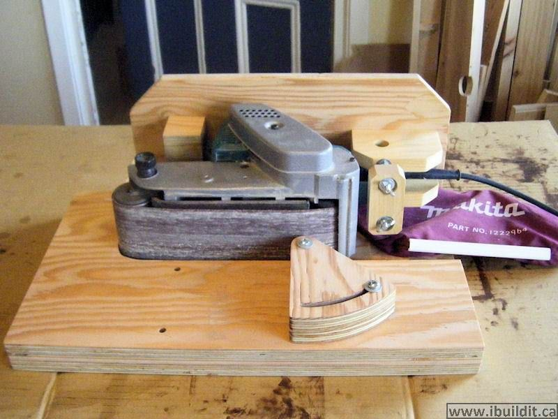 Reader Projects Page 1 Belt Sander Homemade Tools Woodworking